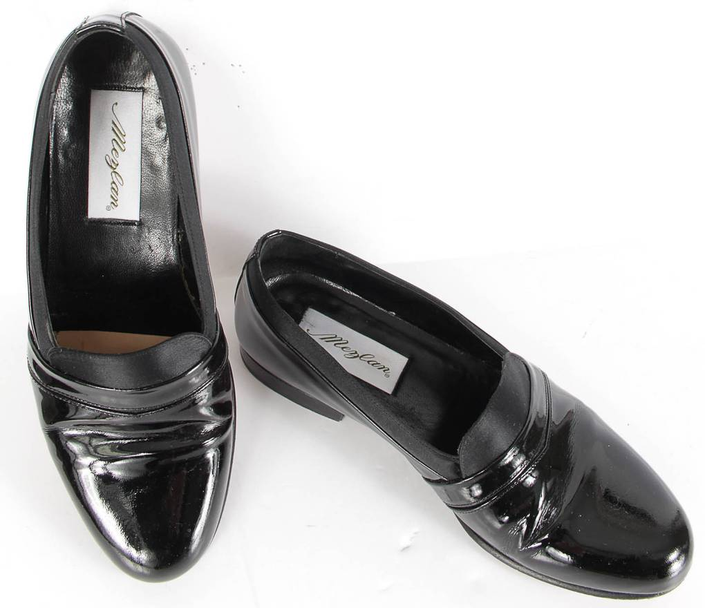 Mezlan Black Tuxedo Dress Shoes Sz. 7.5 M