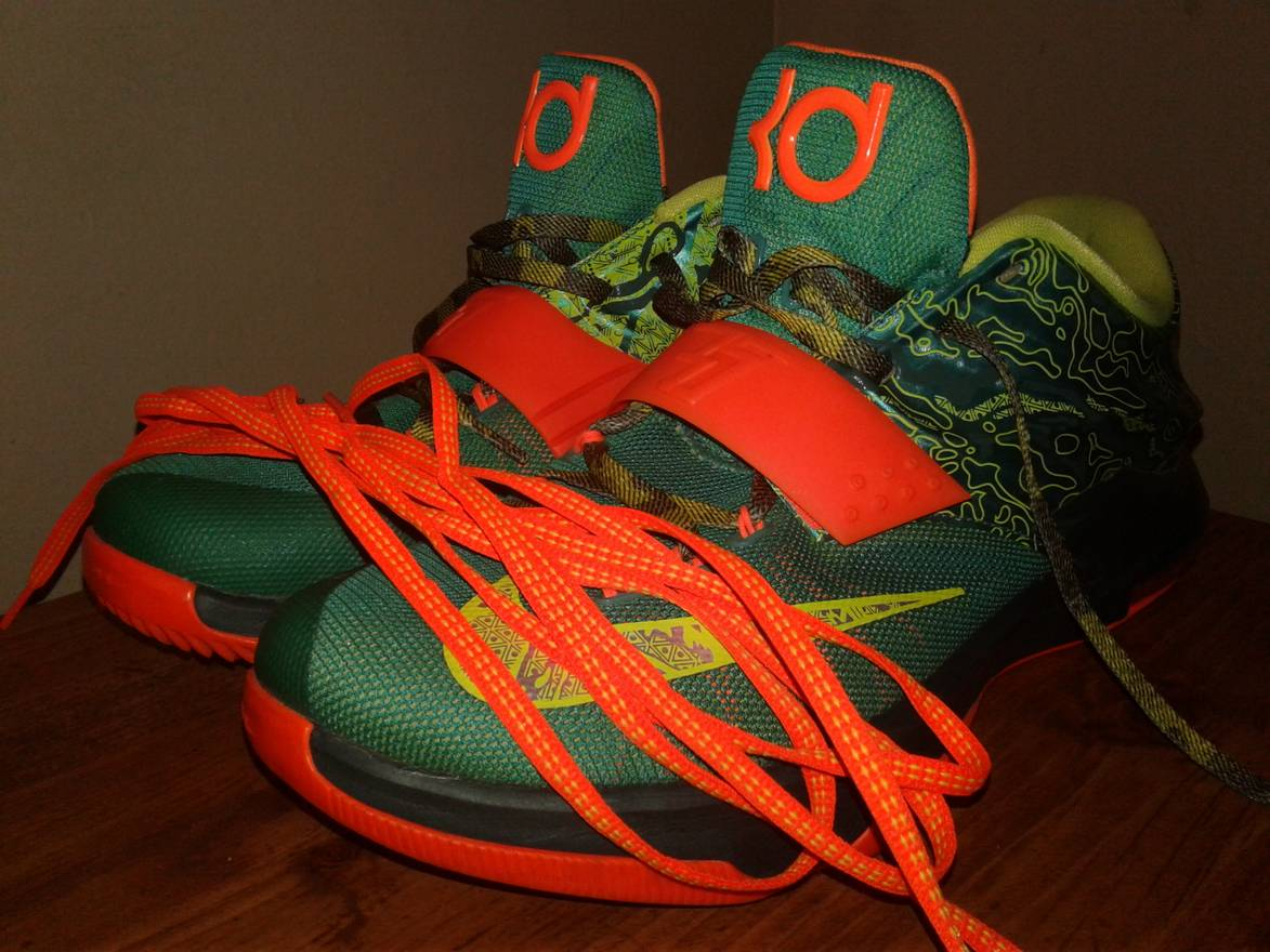 competitive price 9f86b ba1fd inexpensive nike kd 7 sneakers weatherman e6243 941e0