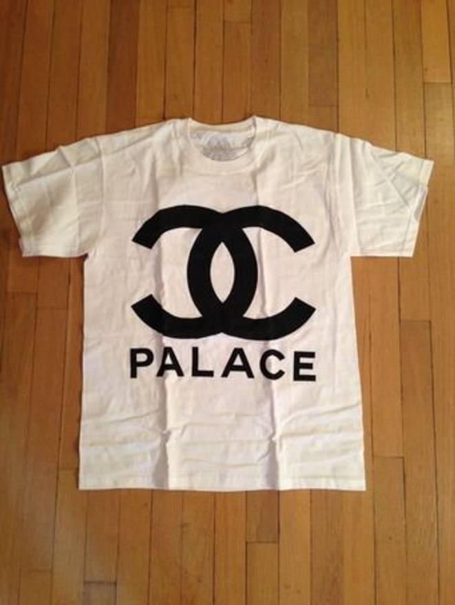 chanel shirt. palace chanel coco loco tee size us m / eu 48-50 2 shirt