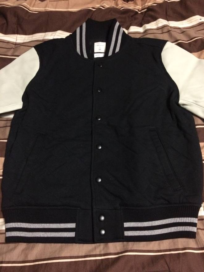 Gap Quilted Varsity Jacket Size S Light Jackets For Sale Grailed