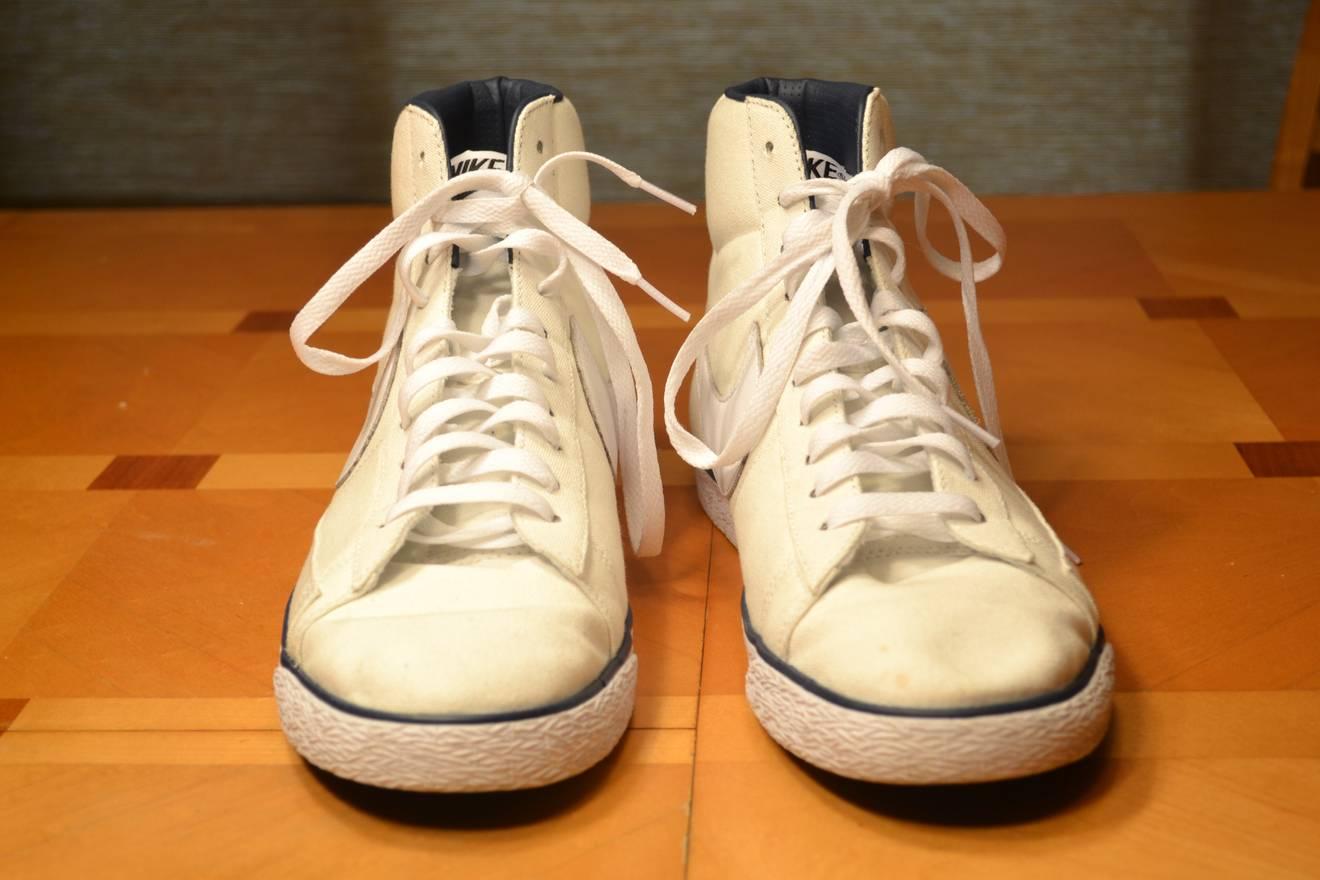 classic fit 8f4a1 69638 Nike A.P.C. x Nike Blazer Hi Size US 12 EU 45 - 10 ...