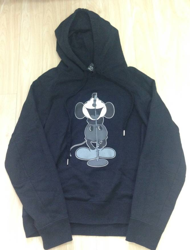 Brand-new Number (N)ine numbernine Mickey Mouse hoodie Size l - Sweatshirts  II47
