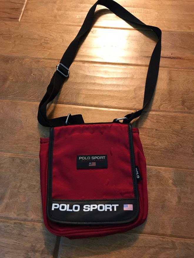 Polo Ralph Lauren Sport Shoulder Bag Size One