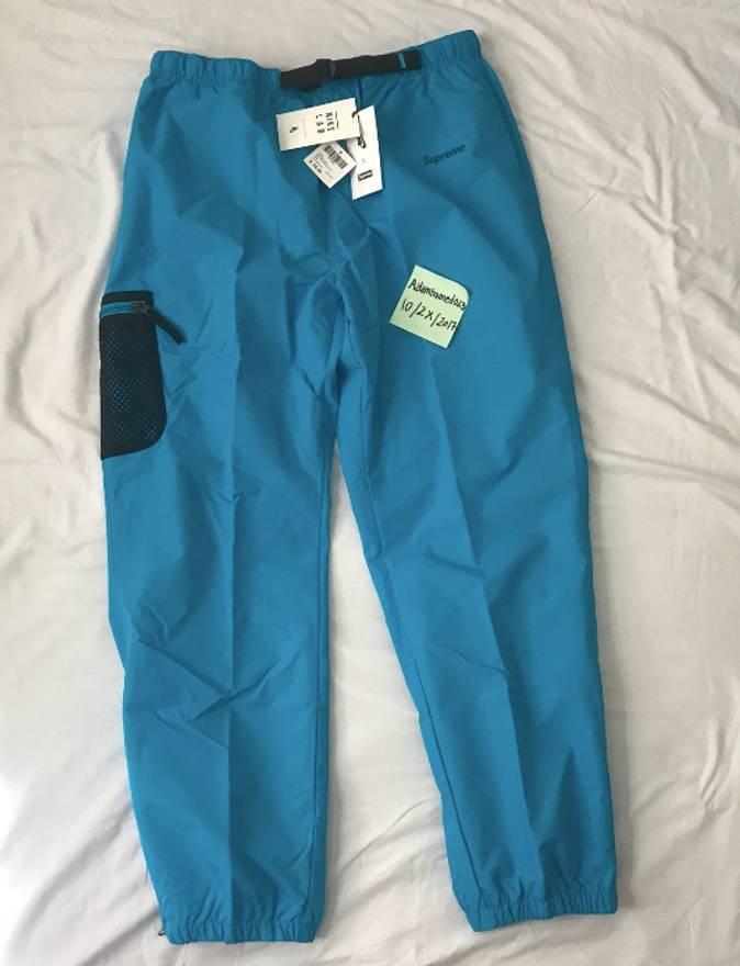 Supreme Nike Trail Running Pant Blue Size US 32 EU 48