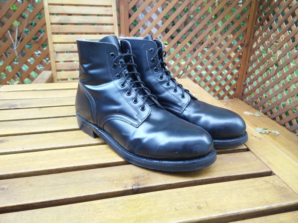 military new canadian parade boots size 11 5 boots for sale grailed