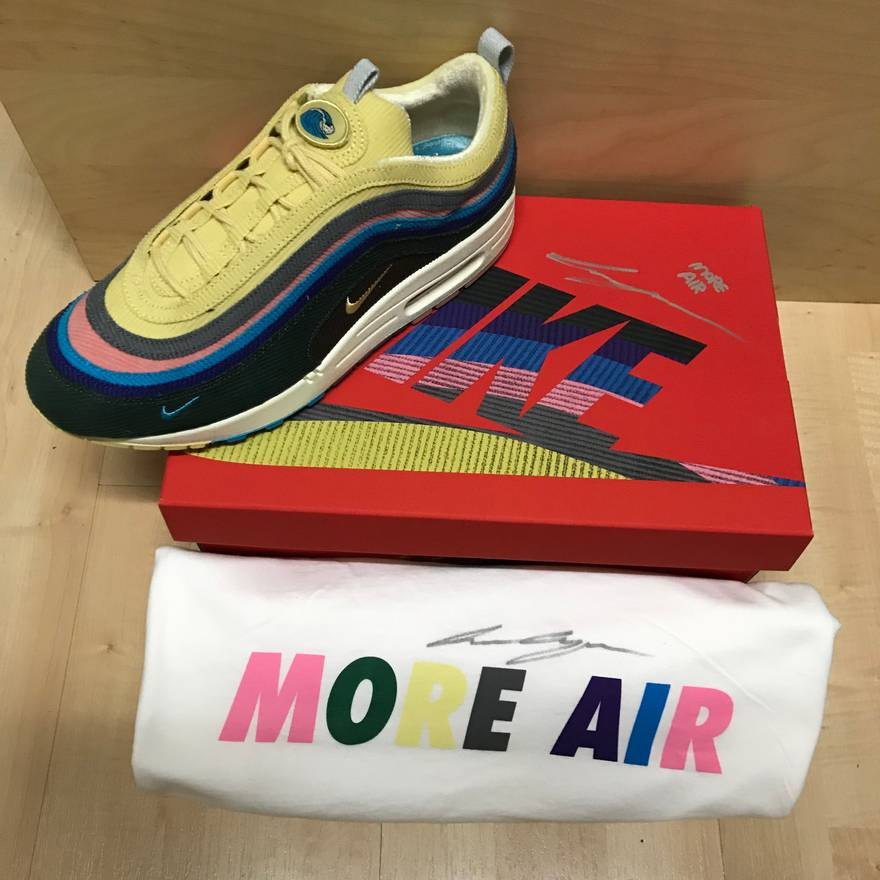 best sneakers 64dc9 549f9 ... new arrivals nike nike air max 1 97 vf sean wotherspoon size us 9 eu 42