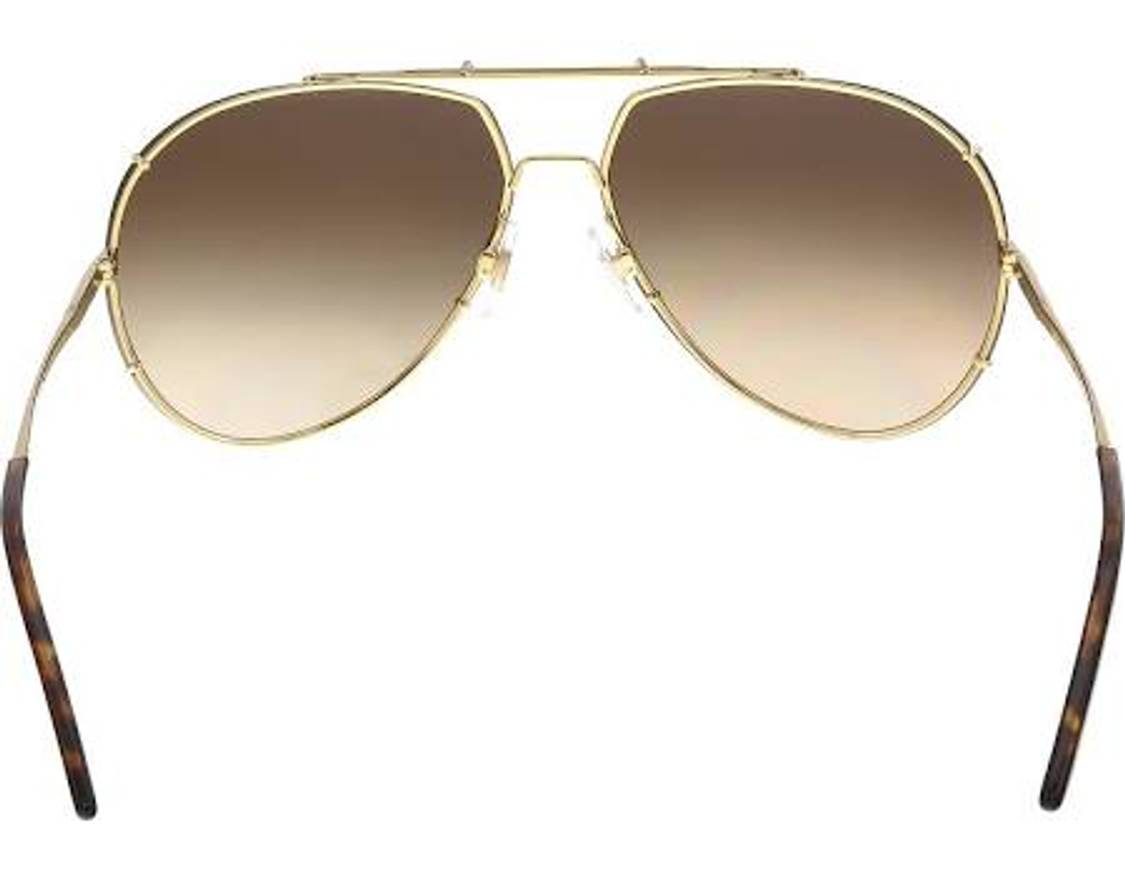 ad417ee34b37 Dolce And Gabbana Gold Aviator Sunglasses
