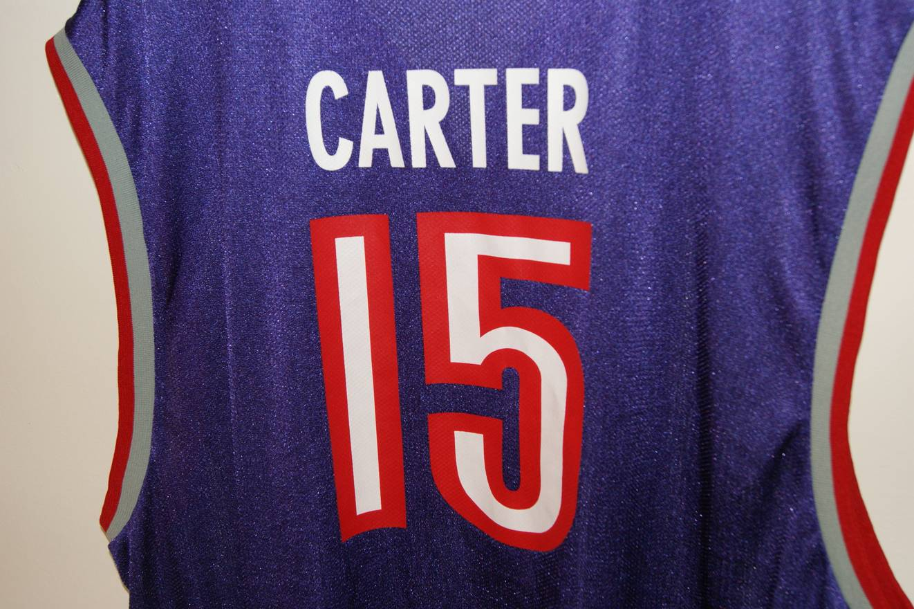 7119bfc4ae7 Reebok Vince Carter Toronto Raptors Jersey Size US XL EU 56 4 - .