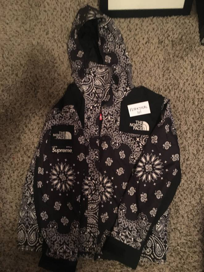 861a3e03 ... new zealand supreme north face nf paisley wind jacket black supreme  supreme tnf paisley bandana parka