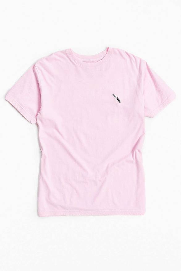 Urban Outfitters Embroidered Knife Tee Size US L / EU 52-54 / 3 ...