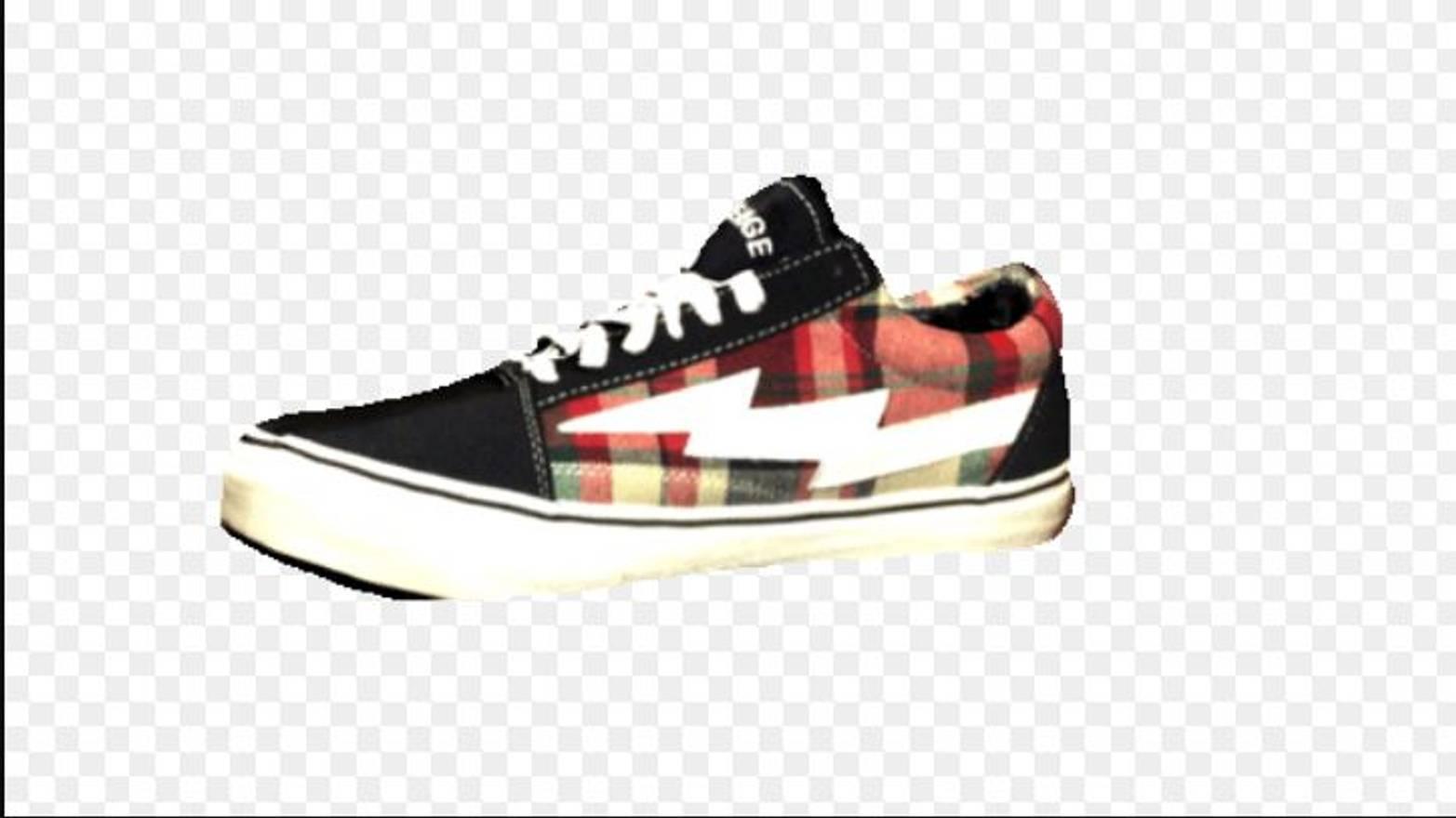 40175522ad6 ... Ian Connor Revenge X Storm Shoe Black Plaid Size 9 Van Lightning Skate  Blood New Ian ...
