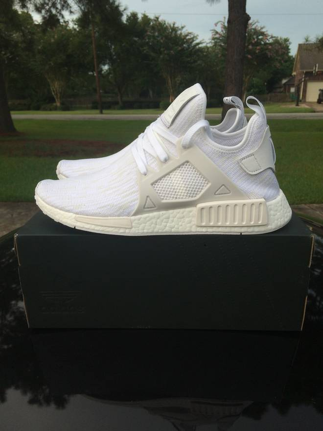 Adidas NMD XR1 W Triple White BB3684 US Women Size 6.5