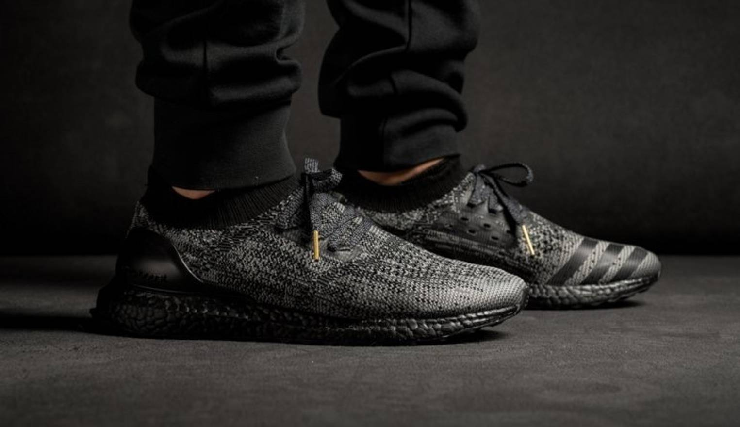 the latest b7d69 39657 ... where to buy adidas ultra boost uncaged triple black black boost sz 9.5  size us 9.5