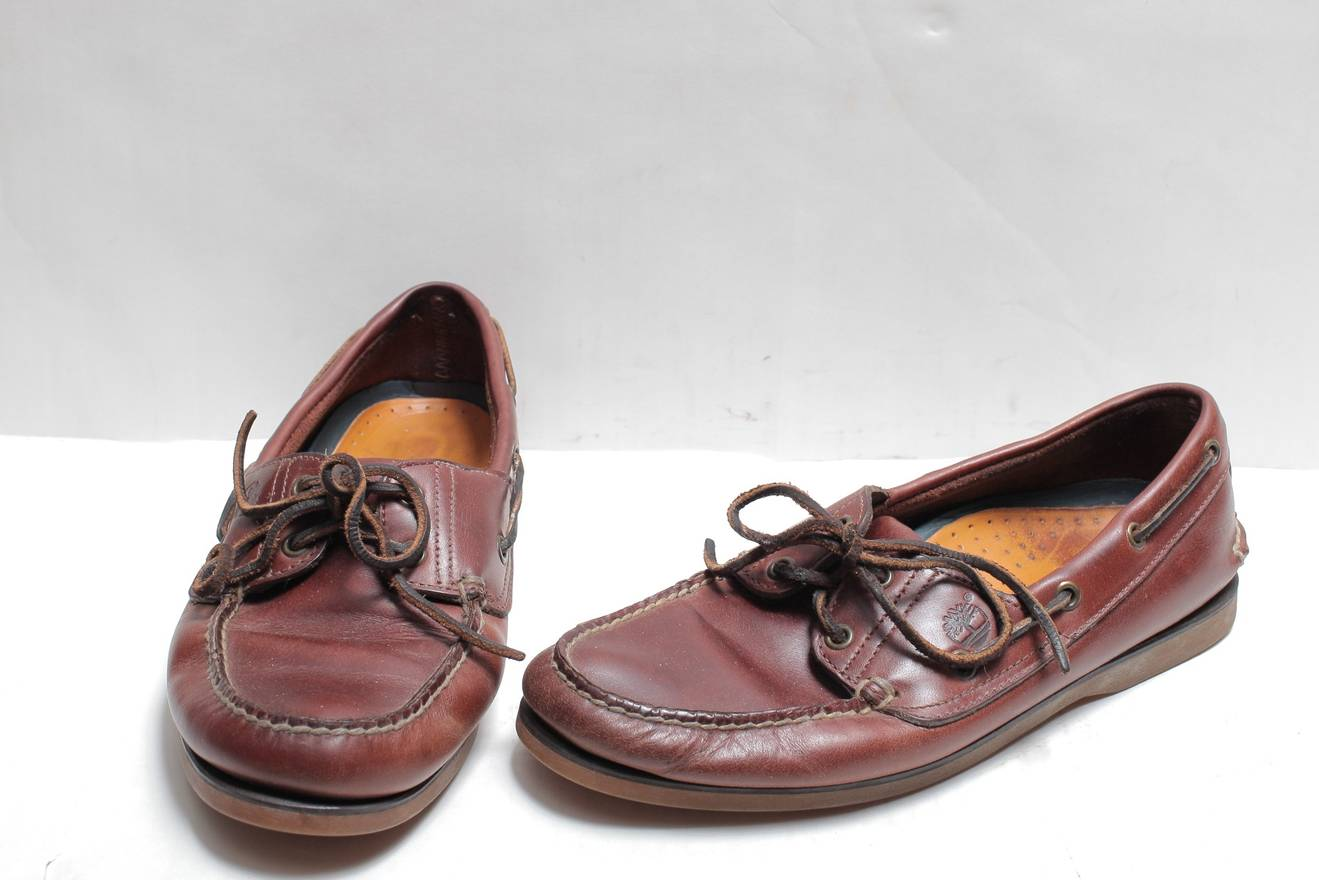 Timberland Boat Shoe Two Eye Size Wide Mens