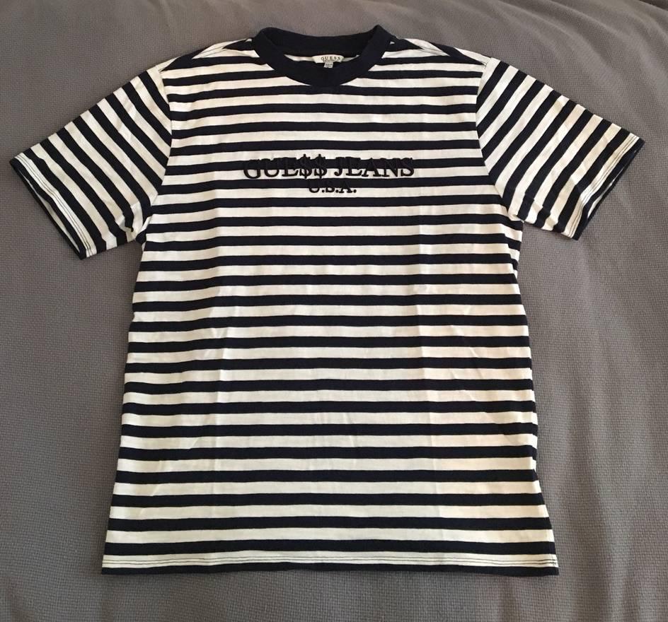 d956a5e453 Guess Striped Shirt Asap Rocky