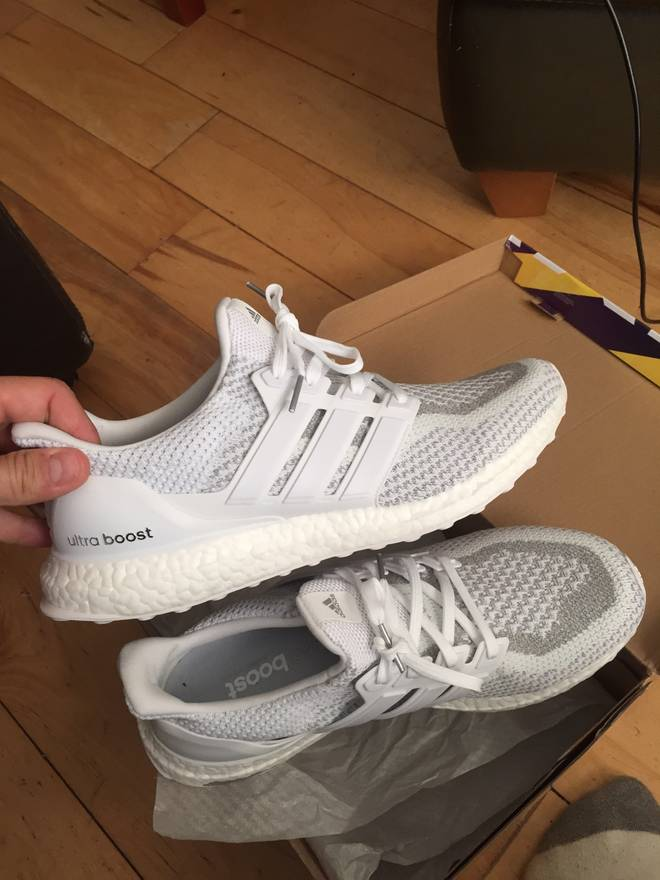 20072302b ... cheap adidas ultra boost ltd 3m reflective white size 11 size us 11 eu  44 f76d7
