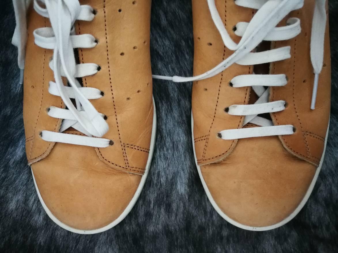 check out 8c908 76983 ... where can i buy adidas stan smith veg tan horween size us 10.5 eu 43 44