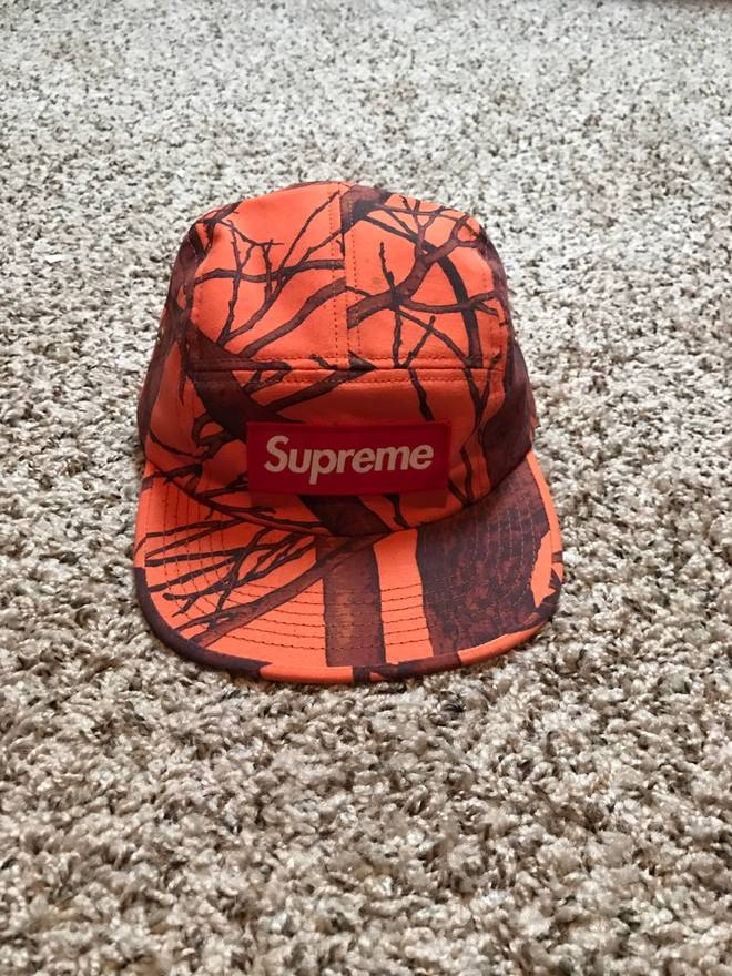 5befd4d4608 ... sale supreme supreme real tree camp cap size one size f8f92 a4a5f