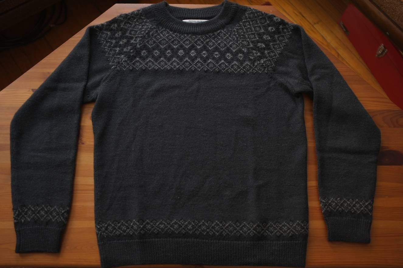 Patrik Ervell Icelandic Sweater Size S Sweaters Knitwear For