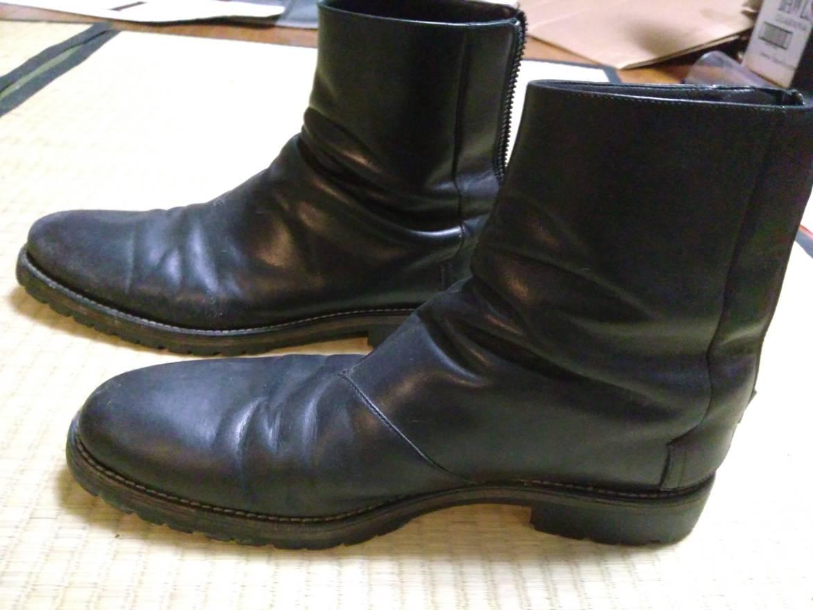 Acne Studios Leather Combat Boots