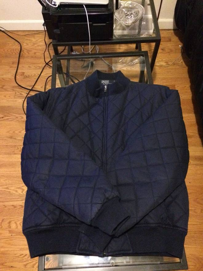 Polo Ralph Lauren Polo Ralph Lauren Quilted Bomber Jacket Size L