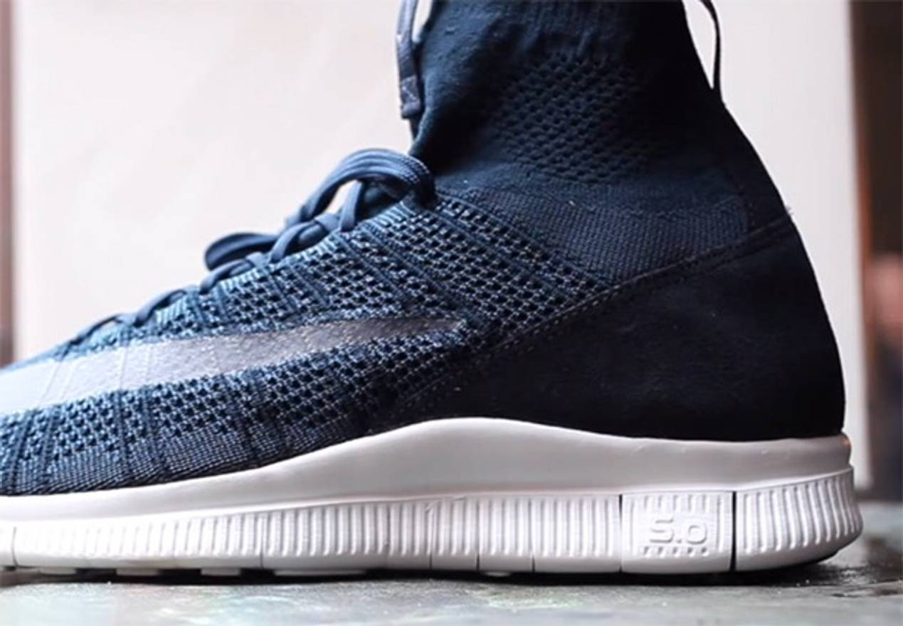 Nike Nike Free Mercurial Superfly HTM Obsidian Size US 10.5  EU 43-44
