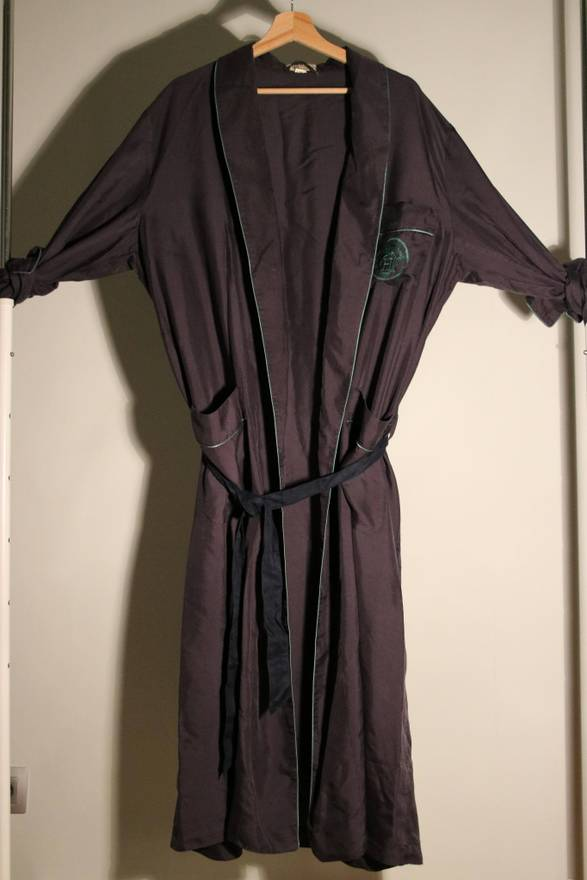 Hermes Hermès satin dressing gown Size 38 - Miscellaneous for Sale ...