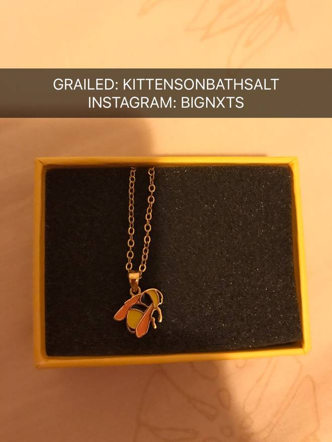 Golf wang bee necklace size one size jewelry watches for sale golf wang bee necklace size one size aloadofball Images