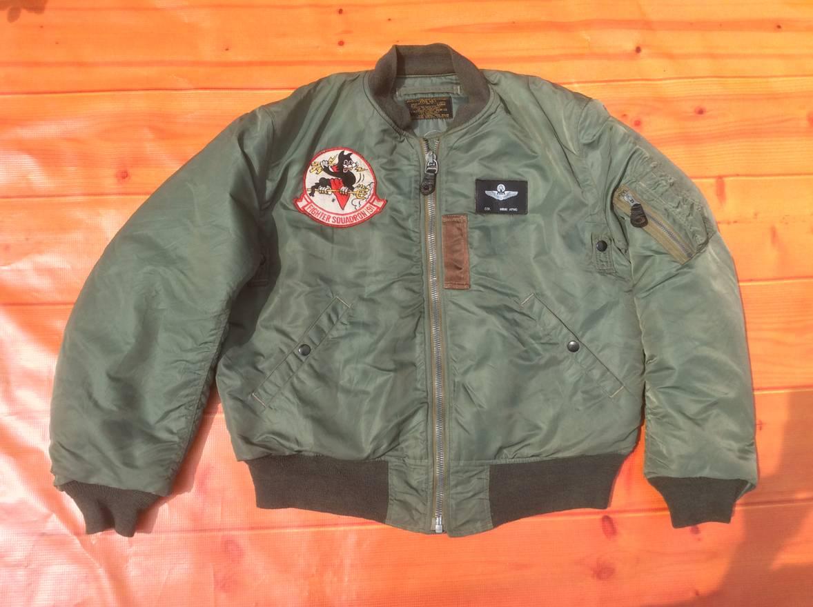 Buzz Rickson's MA-1 FLIGHT BOMBER JACKET BUZZ RICKSON MIL-J-8279 ...