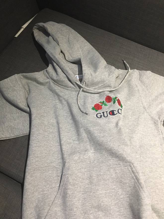 champion gucci x champion size m sweatshirts hoodies for sale