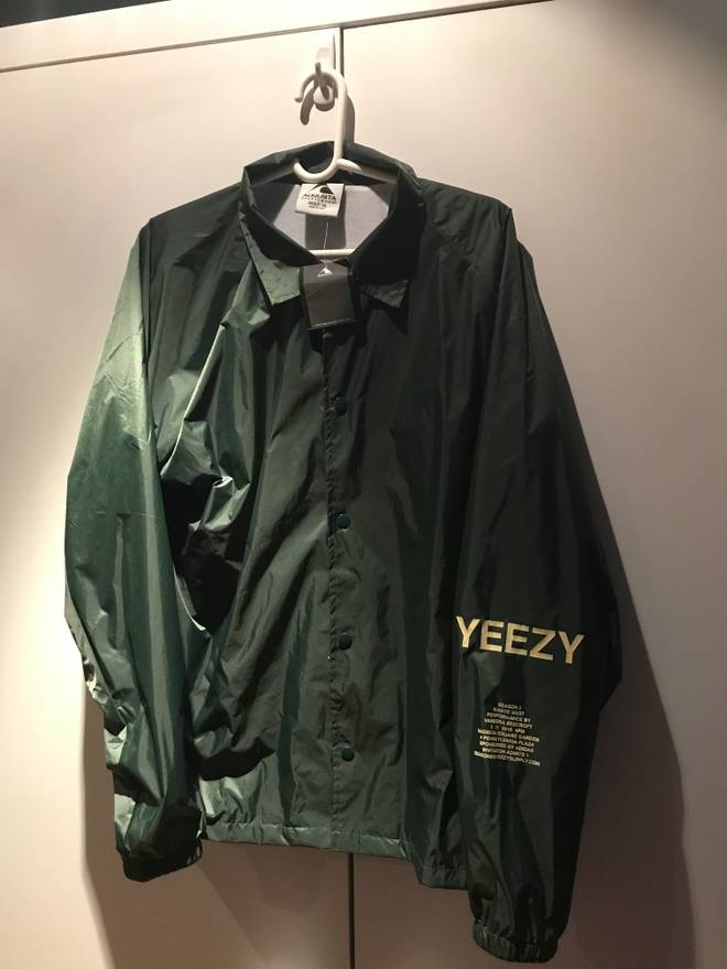 Yeezy season yeezy season 3 invitation coaches jacket size xl yeezy season yeezy season 3 invitation coaches jacket size us xl eu 56 4 stopboris