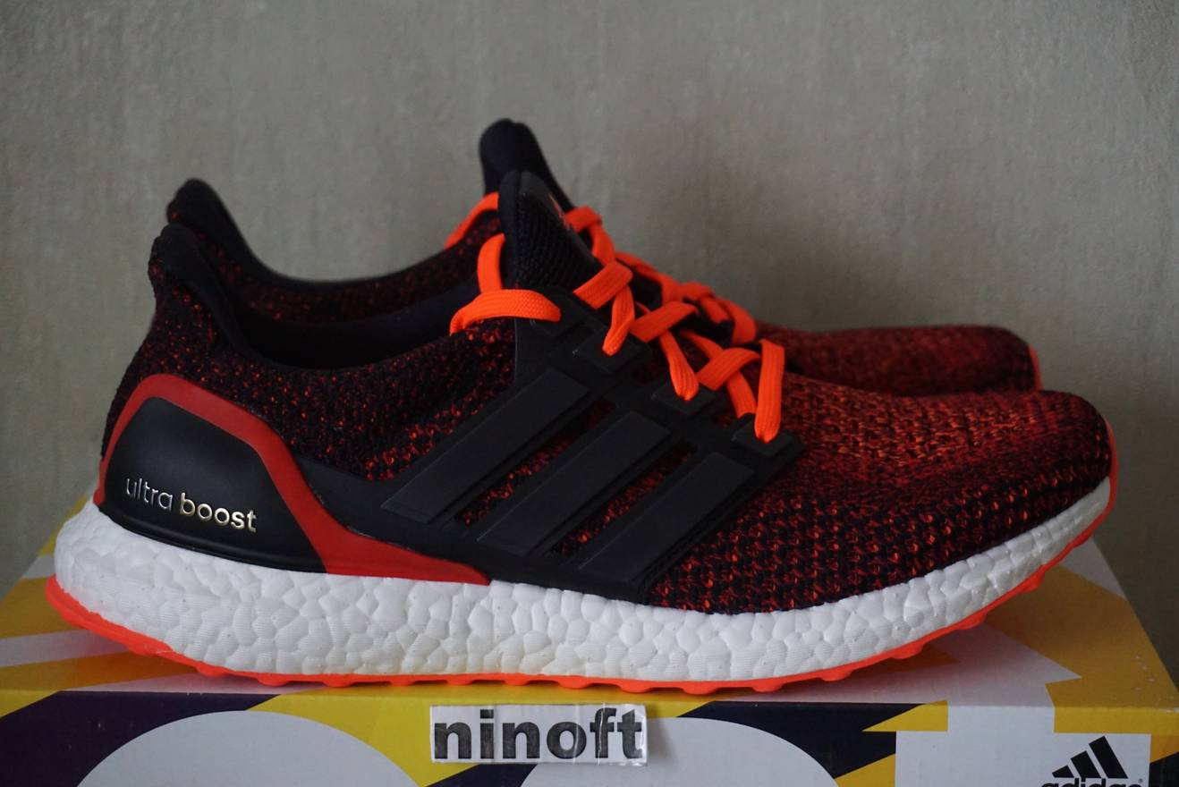 best sneakers af8ed ea5ae ... italy adidas adidas ultra boost 2.0 solar red core black aq5930  gradient size us 10.5 eu