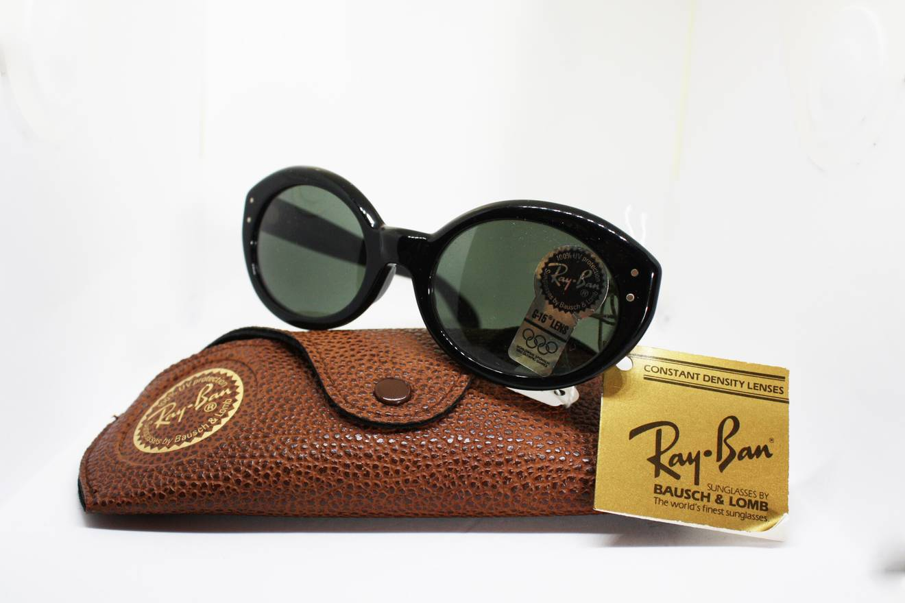 228ac8fe395af ... purchase rayban vintage sunglasses bl ray ban w0956 cat eye ii olympic  albertville gray lenses g15