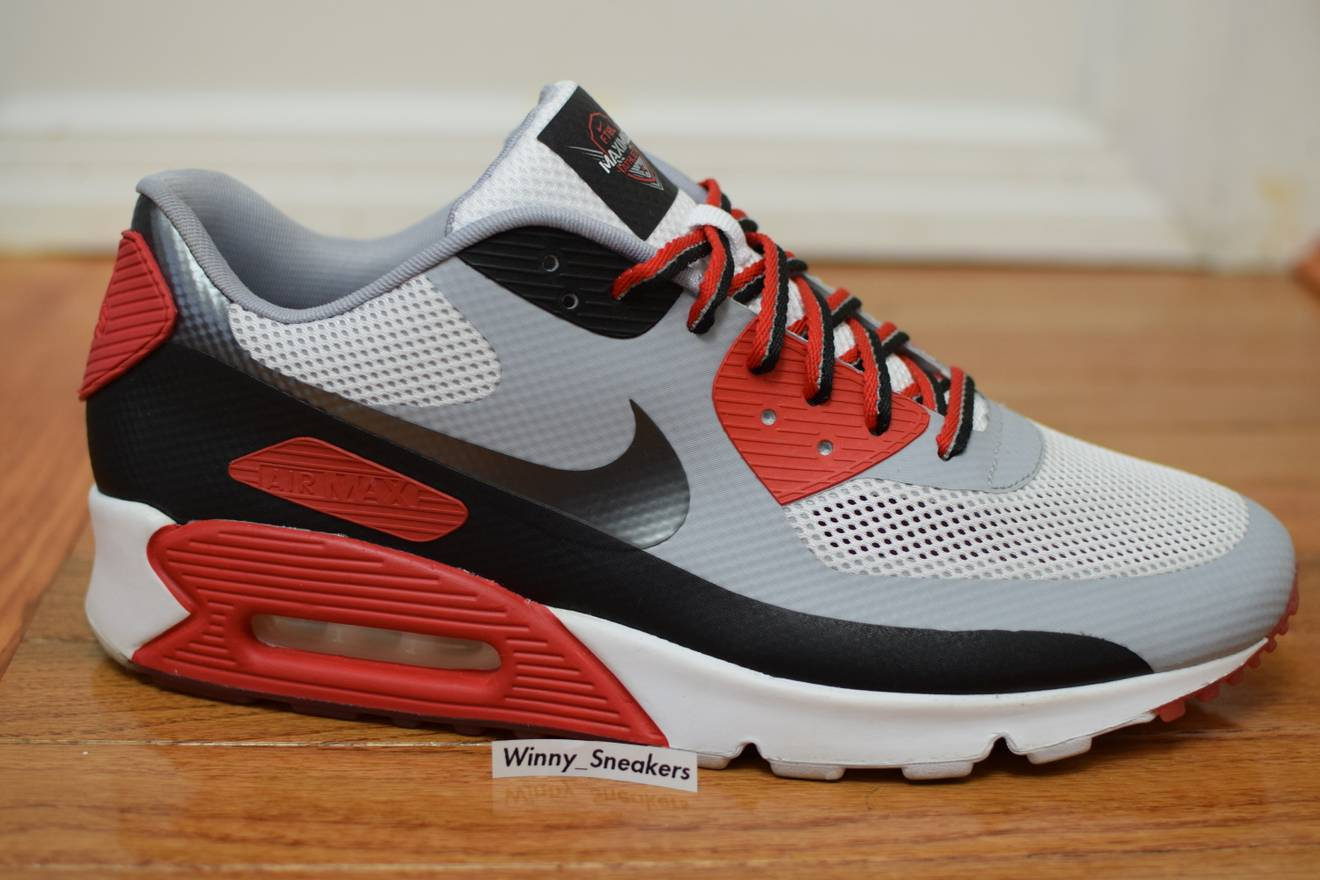Nike Air Max 90 Hyperfuse Low-Top Sneakers