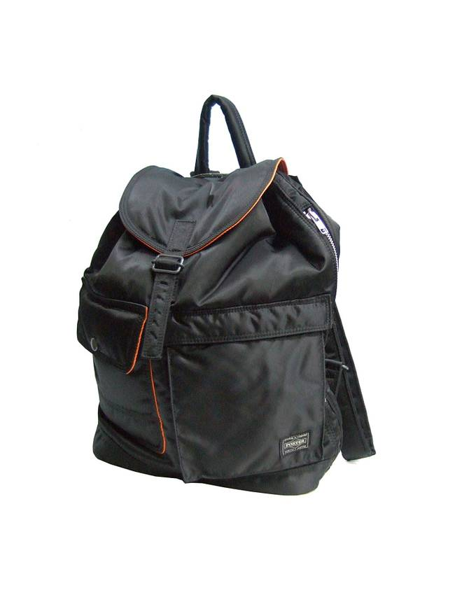 porter yoshida men s tanker day backpack black image 11 super ... fa6aec18ee