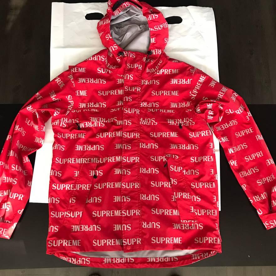 supreme supreme repeat reflective jacket size m raincoats for sale