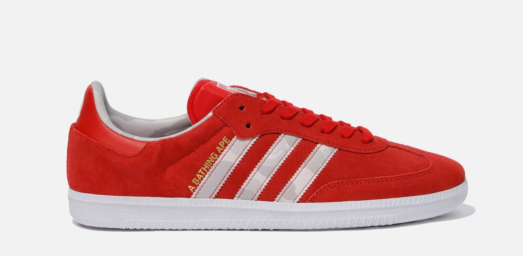 ireland adidas bape x adidas samba size us 9 eu 42 74927 aa9ce 153181f99