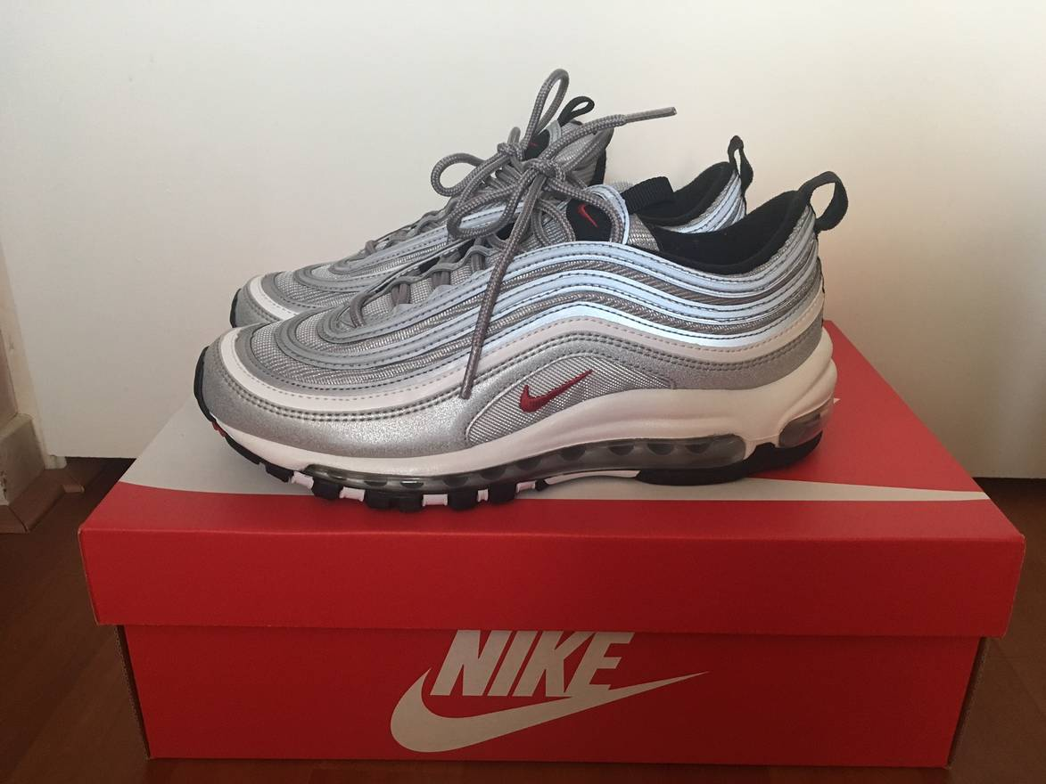 online store 4b358 48b74 ... netherlands nike air max 97 silver bullet size us 7.5 eu 40 41 8306a  be896