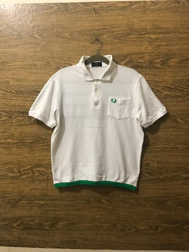 Fred Perry Sale Rare Fred Perry Polo Shirtsmall Embroidery Logo