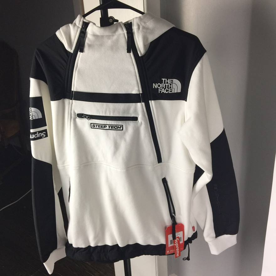 29bfc0a3d62b ... 50% off supreme tnf the north face x supreme 1 of 1 white hoodie hooded