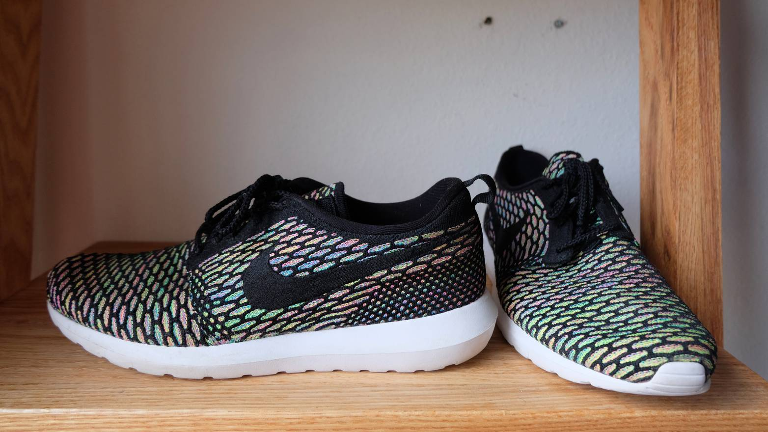 3a36a6dbe32a ... trainers 2f342 b158a  low price nike nike roshe run flyknit size us 12  eu 45 dd522 5633c