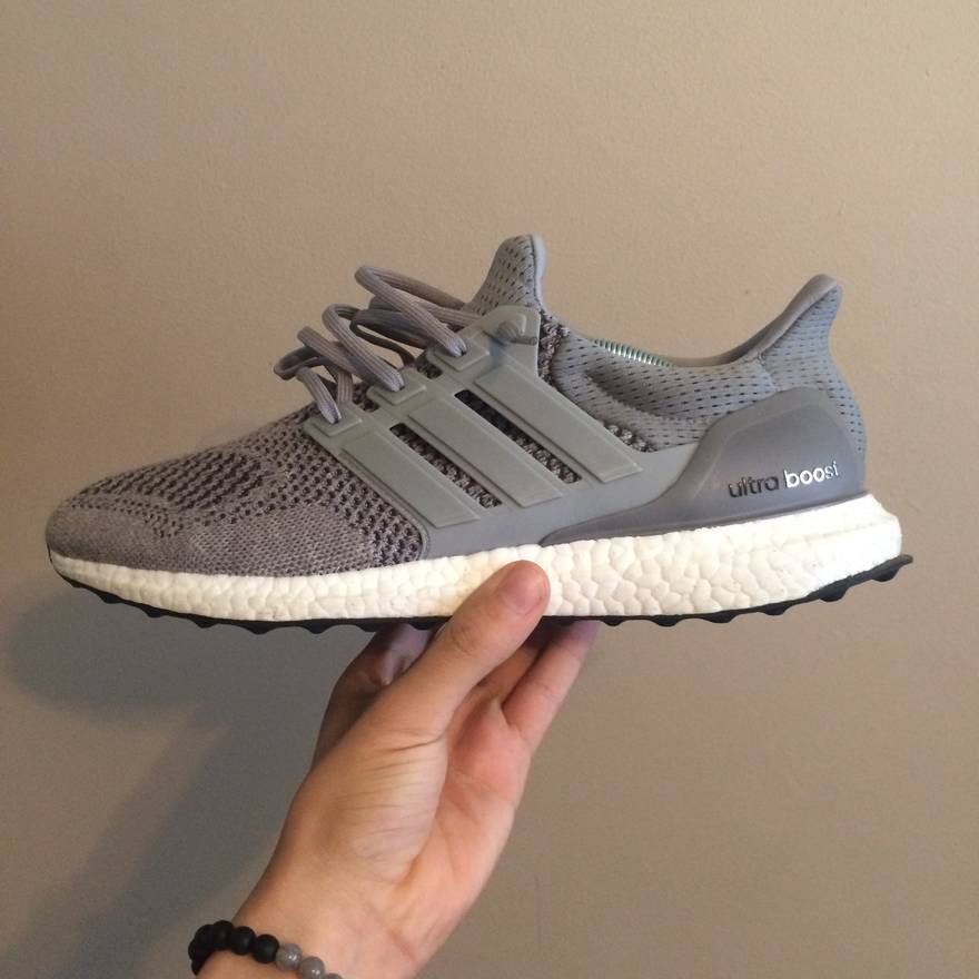 adidas Ultra Boost Uncaged Crystal White Vapour Grey