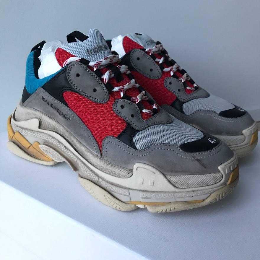 Balenciaga multicoloured Triple S sneaker