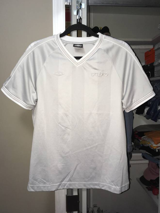 cd59439df ... umbro umbro vintage soccer jersey cream size us m eu 48 50 2