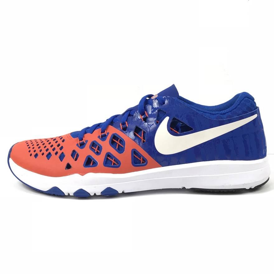 NIKE Shoes/Sneakers 4 AMP UF Florida Gators Blue Orange 844102-810 Mens Size 10