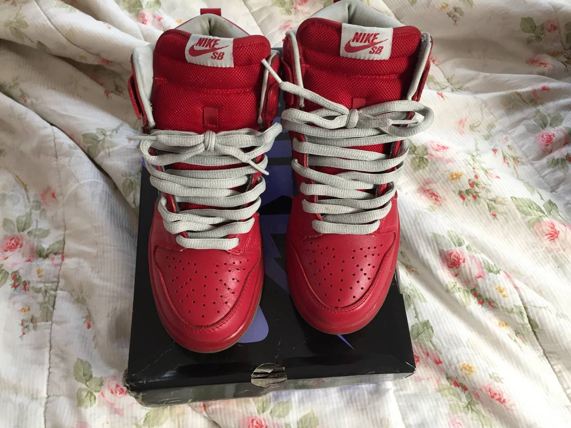 a52984ea8c ... chrome vatisty cb97e fed33  promo code for nike nike dunk high premium  sb mork mindy size us 6 eu 0d2c7