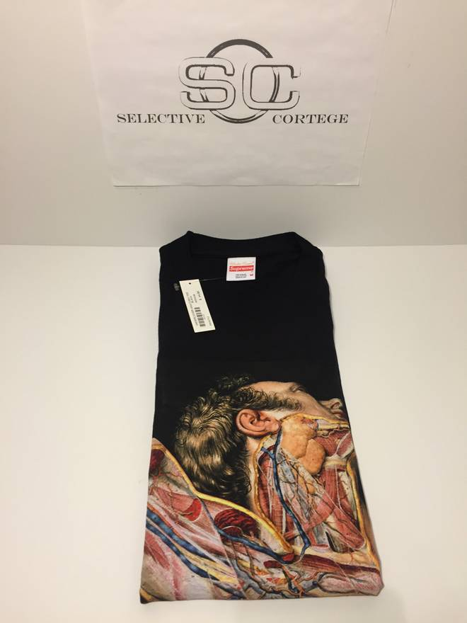 Supreme Anatomy Tee Size M Short Sleeve T Shirts For Sale Grailed
