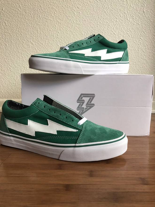 a695b1731cb7b6 ... Vans Black Plaid Shanghai Size 11  Official Images Revenge X Storm  Revenge X Storm Vol. 1 Low-Top Green Sneakers  online for sale ...
