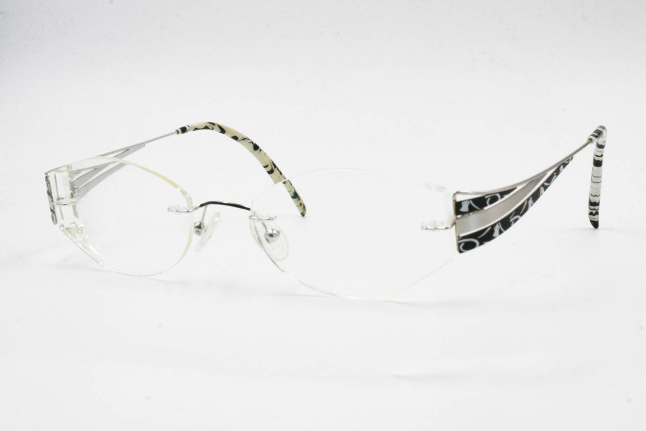Vintage Vintage luxury titanium reading eyeglasses titanium frame by ...