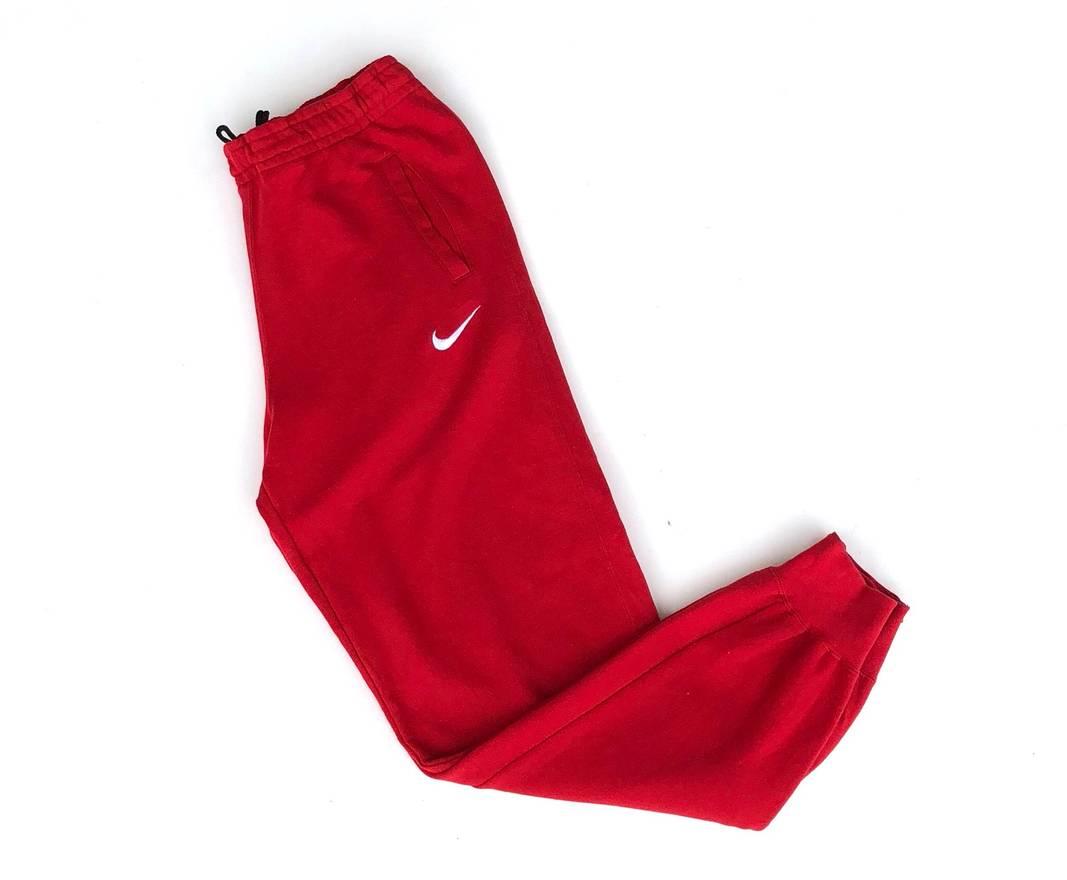 Nike Vintage Nike Swoosh Sweatpants Red Colour Size 33 - Sweatpants ...